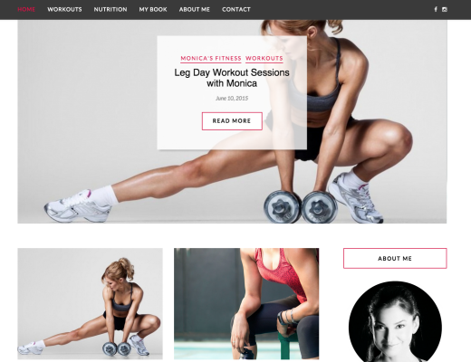 Personal Trainer Website Proposal