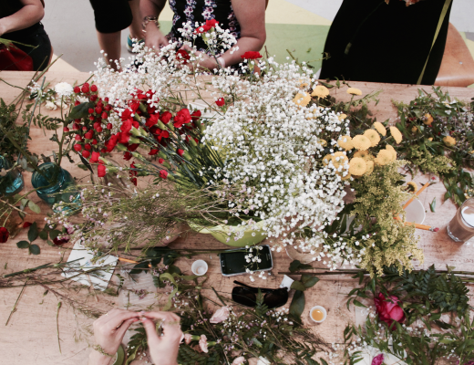 DIY Floral Workshop in Miami