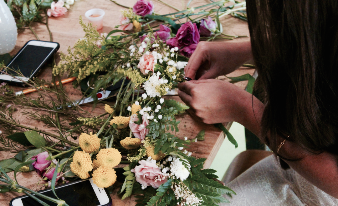 DIY Floral Workshop in Miami11