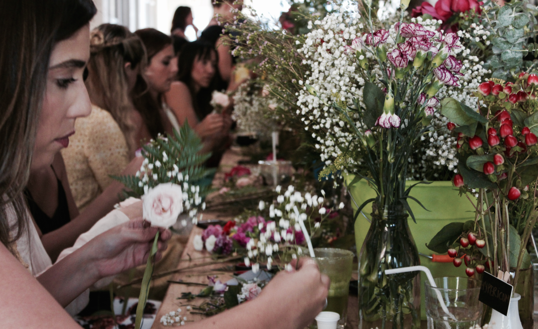 DIY Floral Workshop in Miami4