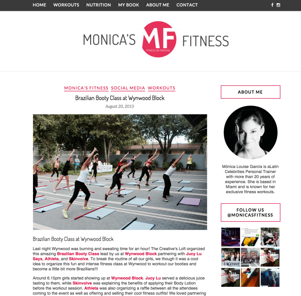Monicas Fitness - Brazilian Personal Trainer