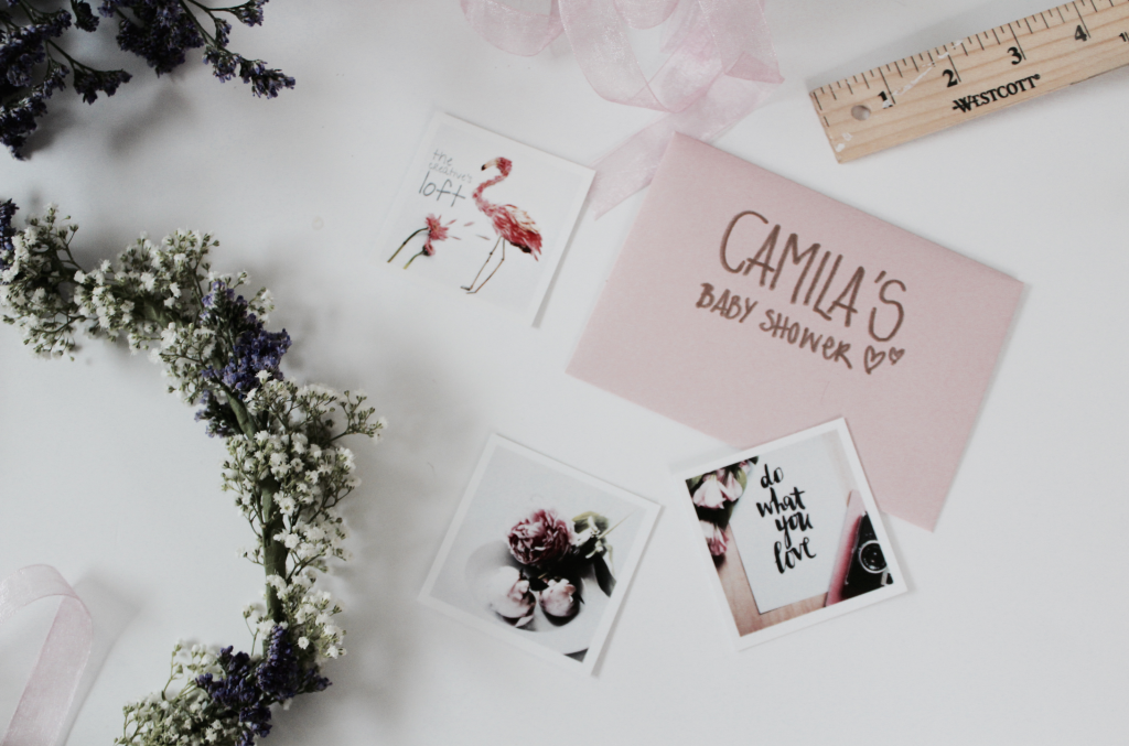 Camila's Baby Shower Floral Crowns