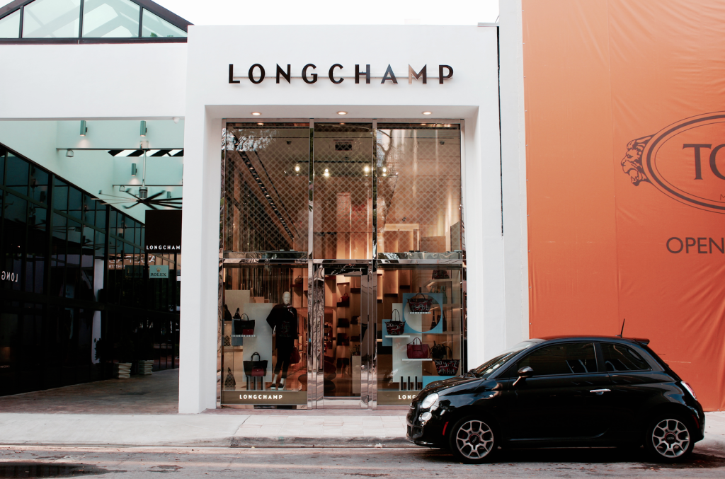 Miami Design District - Luxury Brands - Longchamp