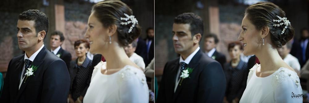 Talento Donostiarra - Vasver Fotografía - Los novios en la iglesia