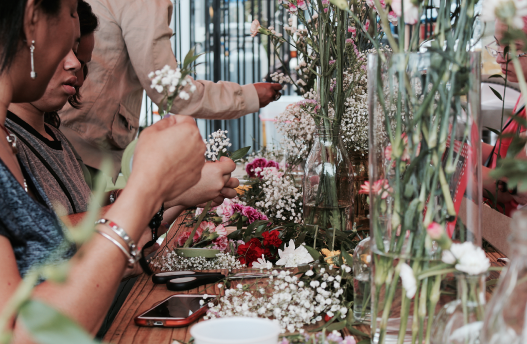 Floral Crown Workshop at The Wynwood Yard 24