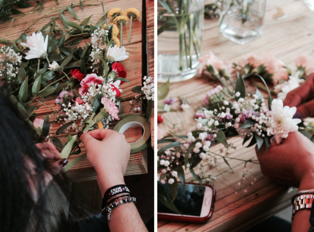 Floral Crown Workshop at The Wynwood Yard column