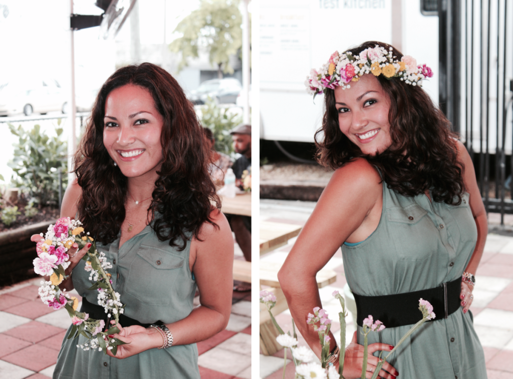 Floral Crown Workshop at The Wynwood Yard