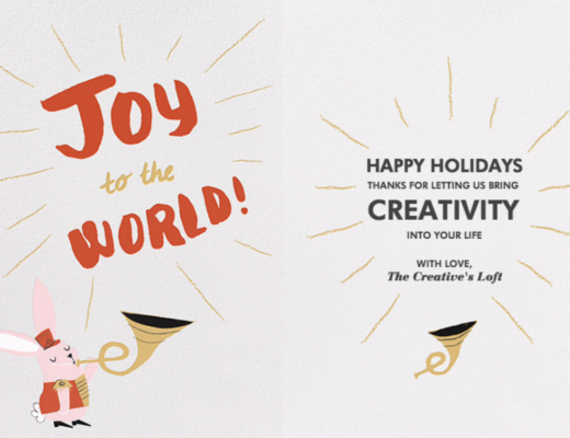 Happy Holidays Creative People