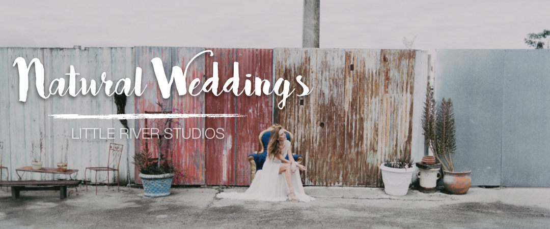 Natural Wedding Inspiration - Little River Studios, Miami