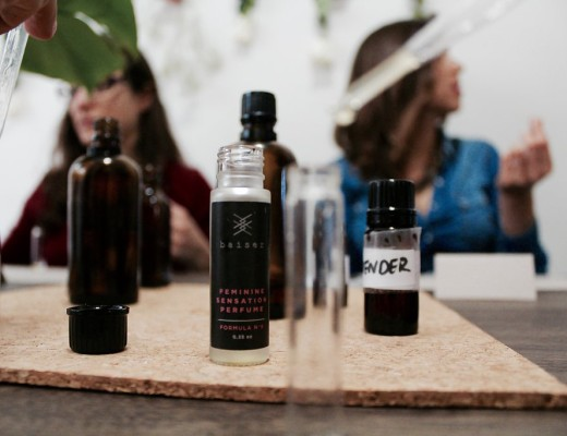 Organic Perfume Workshop by Baiser Beauty