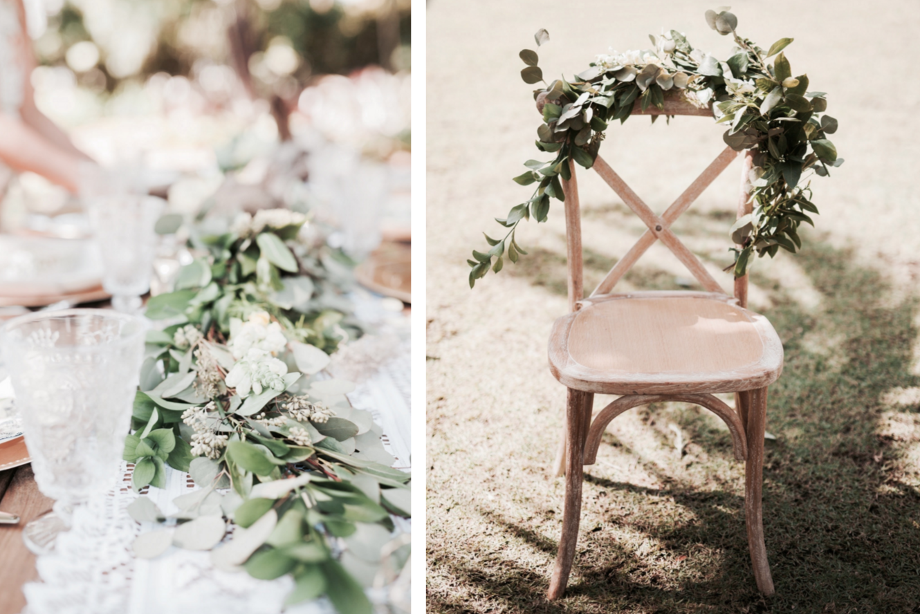 Boho Chic & Natural Table Decor Styled Shoot
