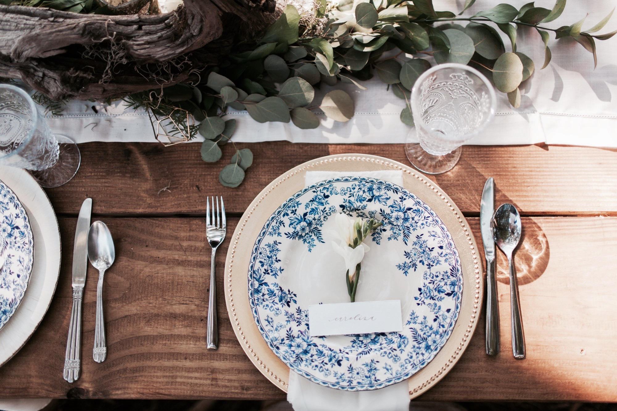 Boho Chic & Natural Table Decor Styled Shoot5