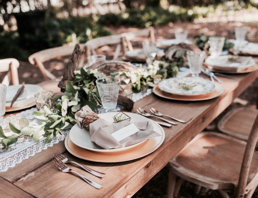 Boho Chic & Natural Table Decor Styledshoot at Botanical Gardens The Creatives Loft Miami Wedding Planner