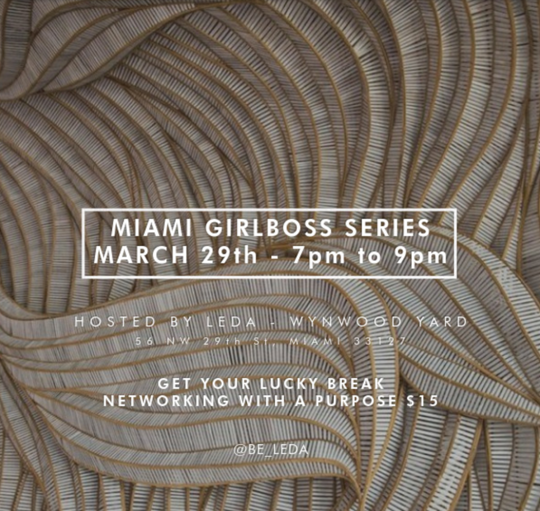 Miami Girlboss Series Lucky Circle Event