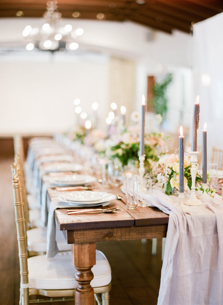 Romantic Wedding Inspiration at Miami Beach Womens Club Alisa Ferris The Creatives Loft