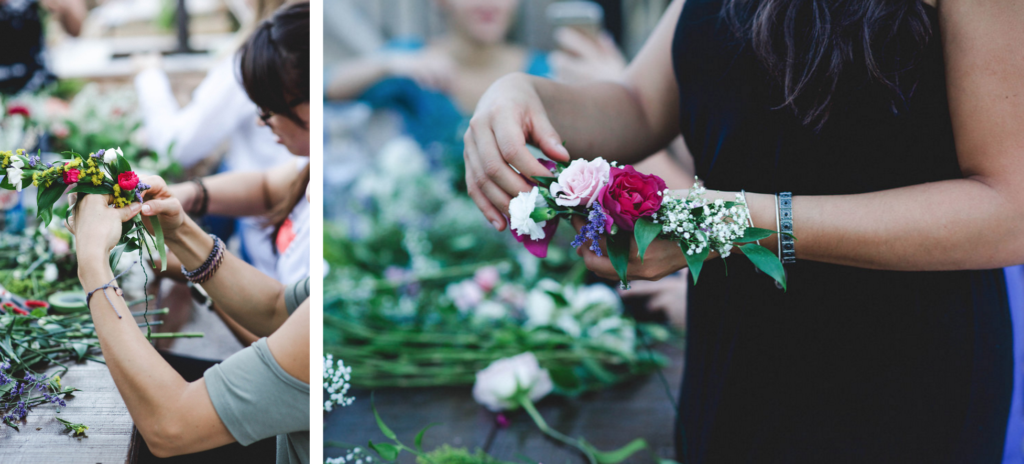 Floral Crown Workshop at The Wynwood Yard Miami