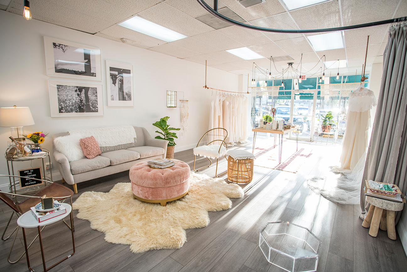 One Creative Hour With Lighthouse Bridal Boutique