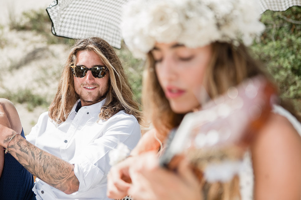 Boho Surfing Wedding at Les Landes Miami Wedding Planner The Creatives Loft and International Wedding Photographers Vasver Studio