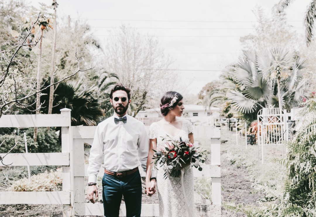 Bohemian Elopement Wedding in South Florida Miami Wedding Planner