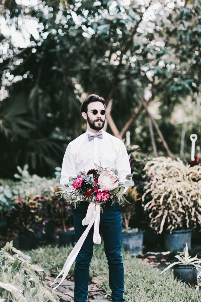 Bohemian Elopement Wedding in South Florida - Miami Wedding Planner The Creatives Loft - simply lively wedding photographer