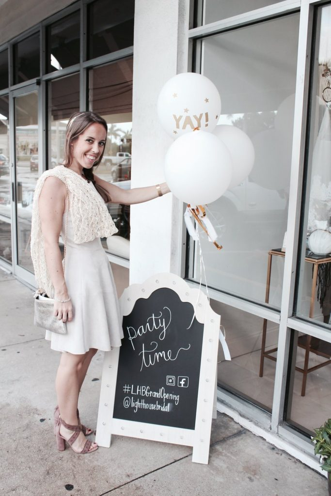 Lighthouse Bridal Boutique Grand Opening