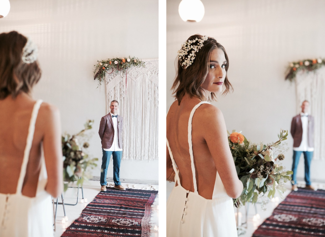Industrial Bohemian Wedding in Wynwood The Creatives Loft Miami Wedding Planner