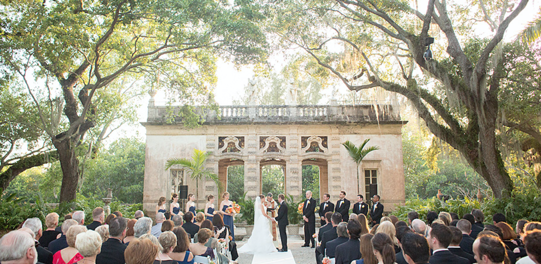 Vizcaya Museum Gardens Wedding Venue Miami Wedding Planner
