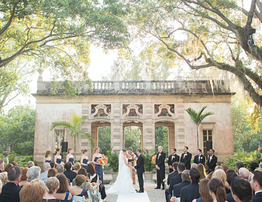 Vizcaya Museum & Gardens Wedding Venue
