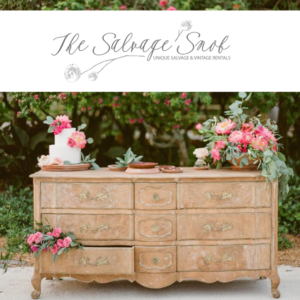 the salvage snob – miami vintage rentals the creatives loft wedding planner