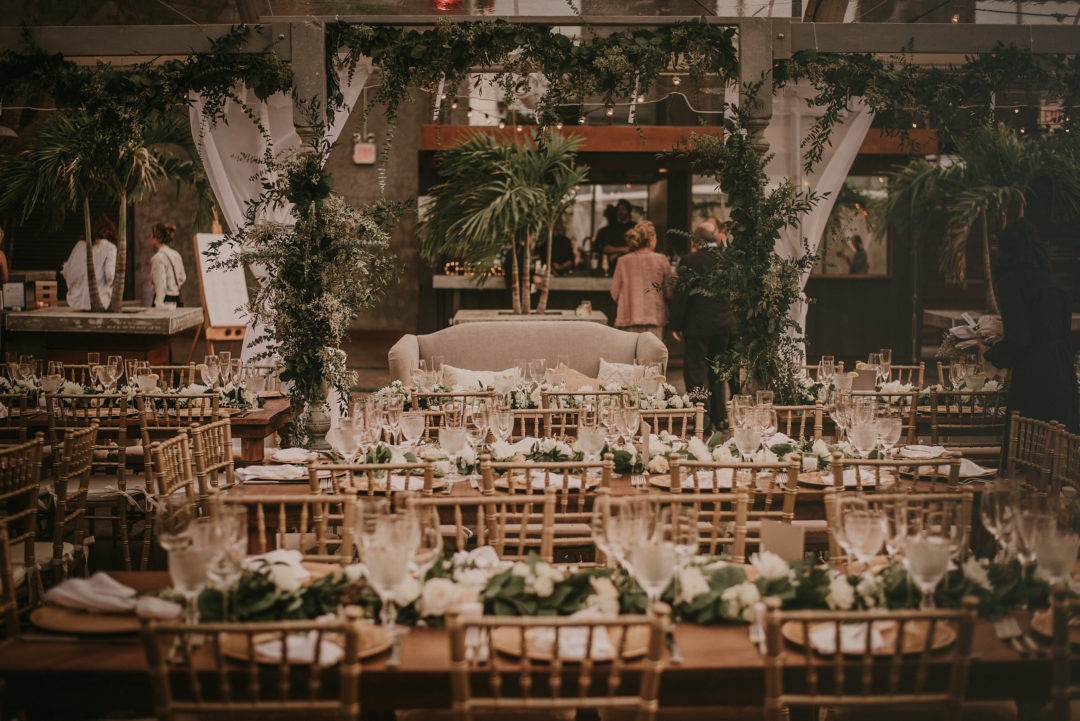 Featured on Thierry's Isambert Catering Blog - Industrial Romantic Wedding The Creative's Loft Miami & NYC Wedding Planning Studio in Florida