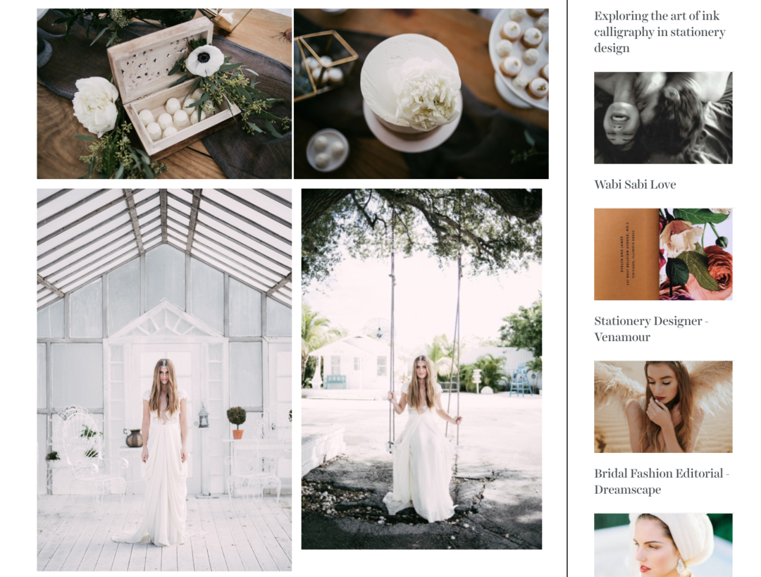 Featured on Truly and Madly - Organic & Rustic Bohemian Wedding Inspiration in Miami Wedding Planner The Creatives Loft NYC Wedding Planner