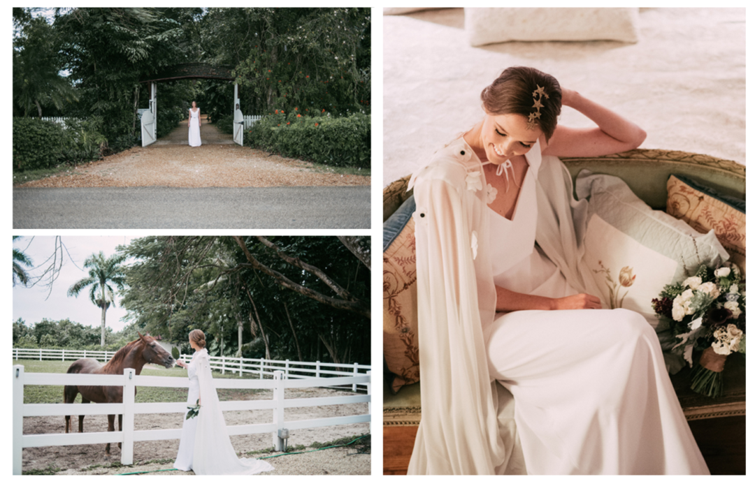 Featured on Truly and Madly - Vintage Garden Wedding at The Walton House The Creatives Loft Miami and NYC Wedding Planner