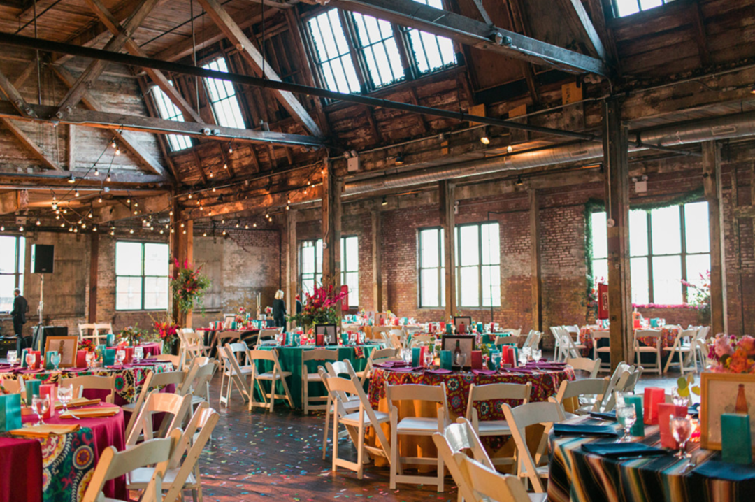 Greenpoint brooklyn wedding venue nyc wedding planner the creatives loft junglespirit Choice Image