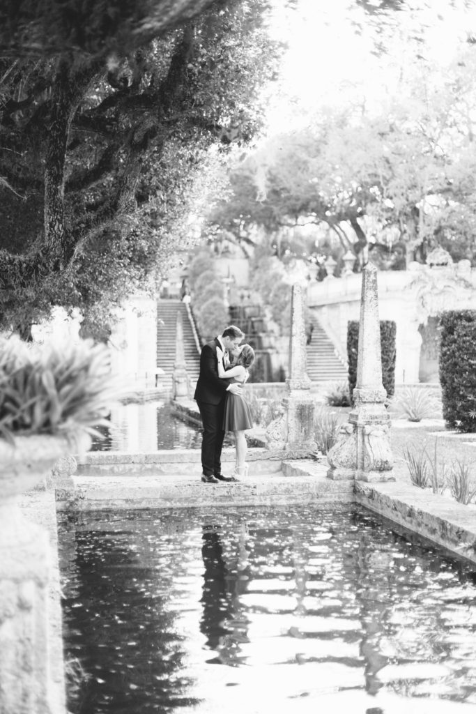 Miami Engagement Session at Villa Vizcaya