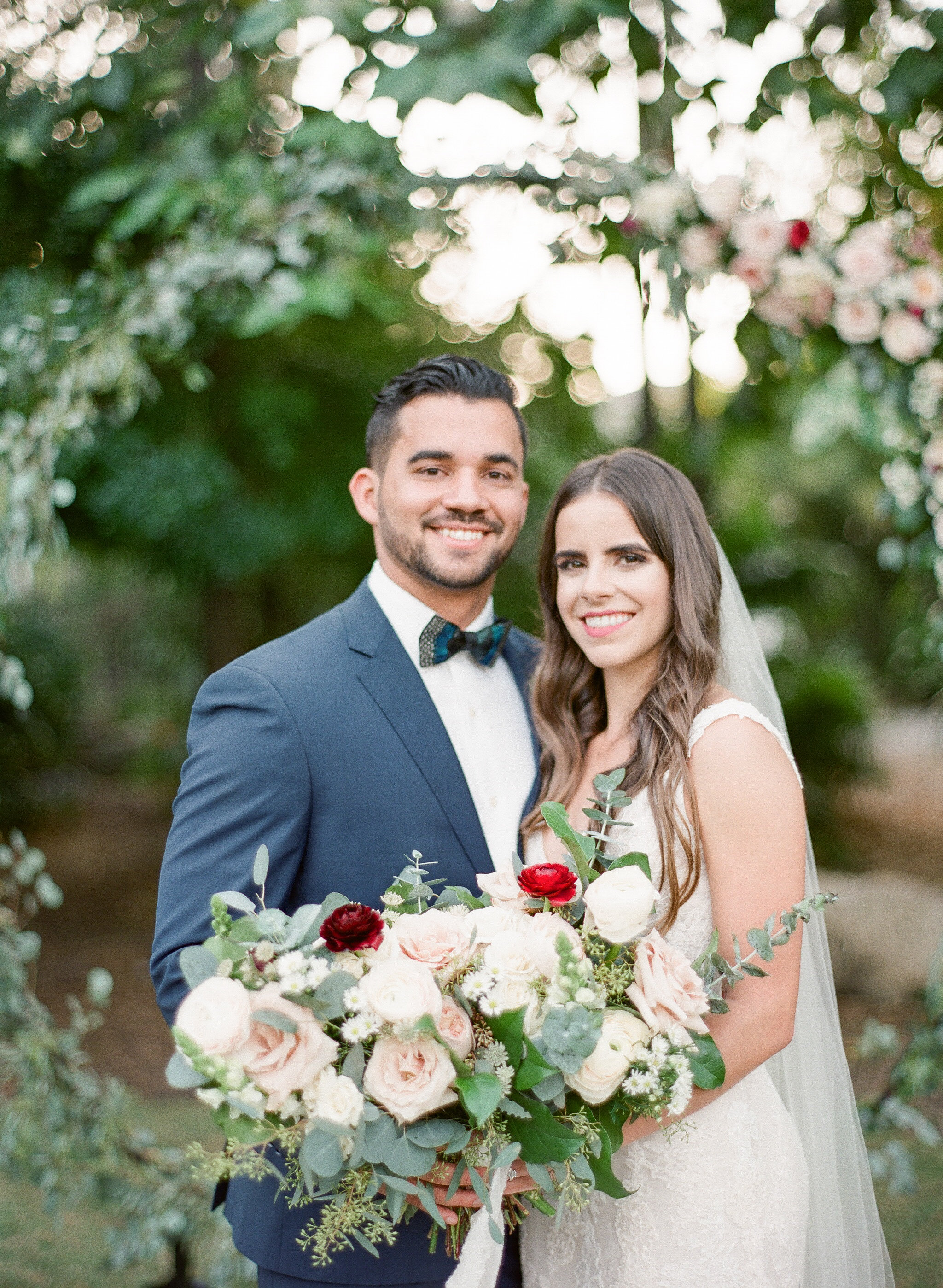 Boho Chic Garden Wedding in Miami Beach Botanical Gardens Florida The Creatives Loft Wedding Planning Studio