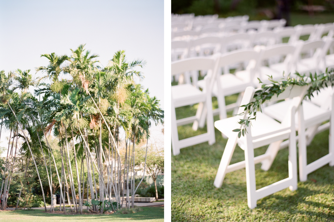 boho chic garden wedding in miami beach botanical gardens florida