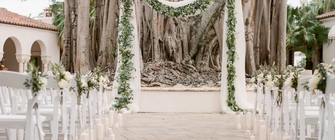 Romantic Fisher Island Wedding at Miami Beach The Creatives Loft Wedding Planning