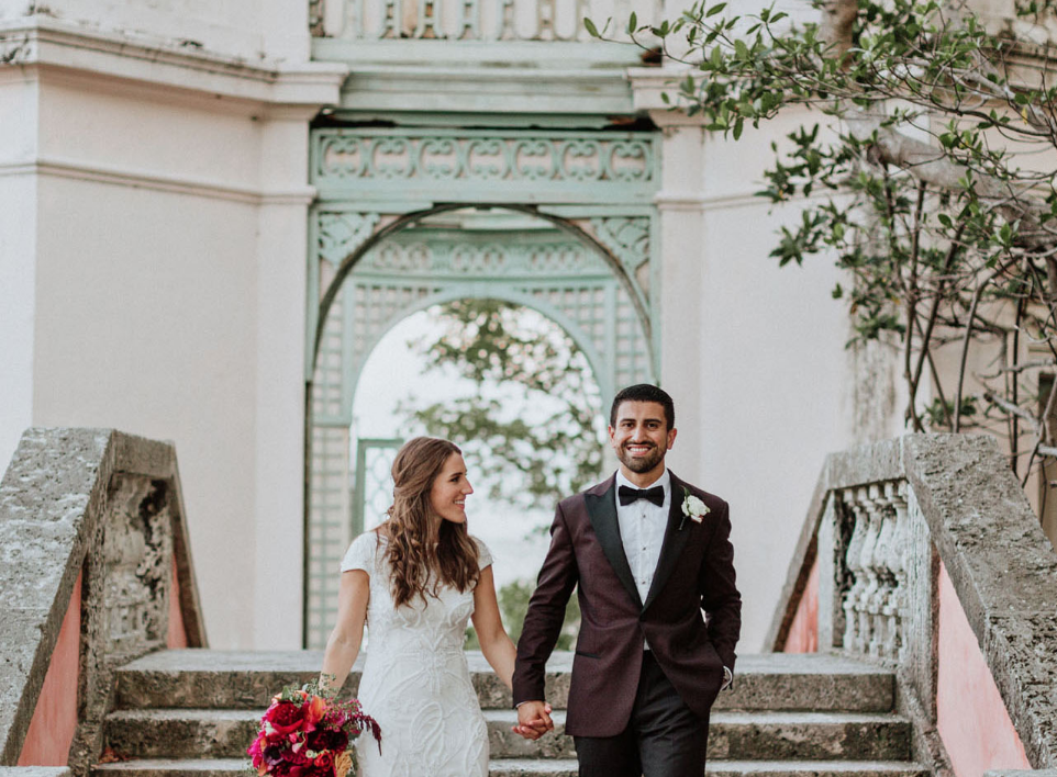 Tropical Wedding Film Vizcaya Museum Miami The Creatives Loft Wedding Planning Studio