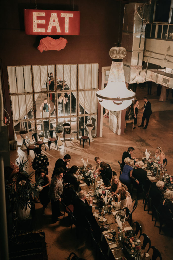 Industrial Wedding at ACE PROPS Miami The Creatives Loft Wedding Planner Miami Destination Weddings