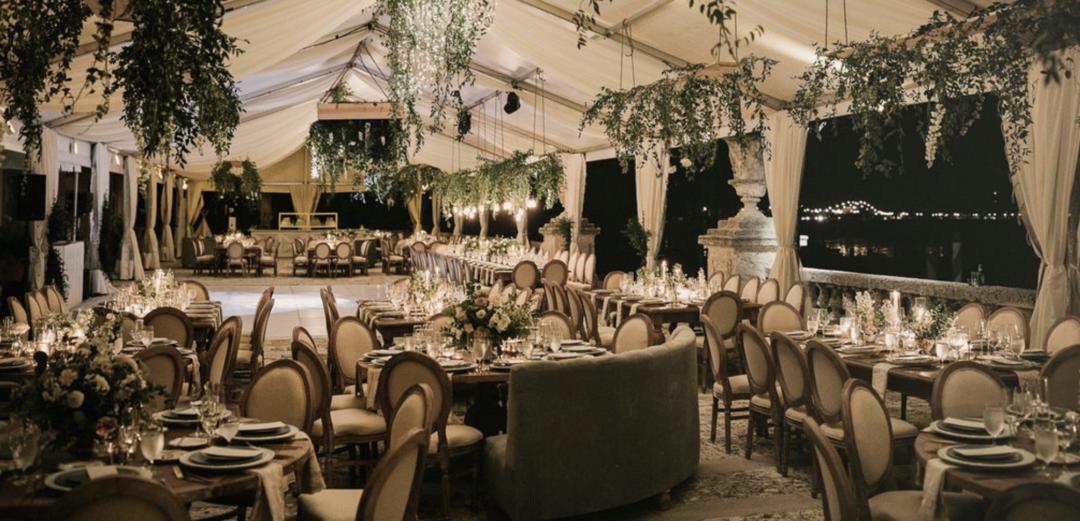 Vizcaya Wedding Miami Wedding Repcetion Tent