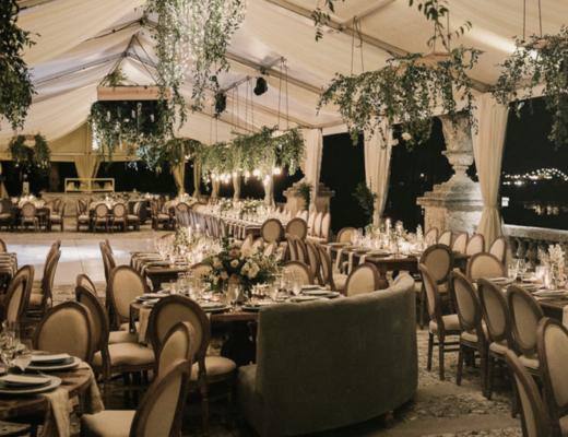 Vizcaya Wedding Miami Wedding Repcetion Tent
